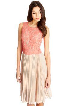 Victoria Lace Midi Dress