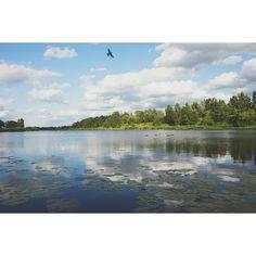 Lake Kisezers, Riga Loved exploring the city of Riga and its surroundings today. Beautiful!  #mbpolarsun #riga #latvia
