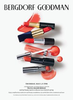 We're all so excited for our May 1st Spring Beauty Event. . . and we heart Sarah Conley for sharing with her readers!