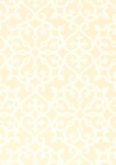 Allison #wallpaper in #yellow from the Geometric Resource collection. #Thibaut