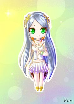 Yeul by ~RouCaelum on deviantART fav ff13 character. The relationship with her and Noel is too cute