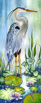 Decorative Pictures With Birds Watercolour Painting By Lyse Anthony Watercolor Bird, Watercolour Painting, Painting & Drawing, Watercolor Artists, Watercolours, Watercolor Tattoo, Art And Illustration, Illustrations, Silk Painting