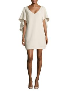 Talene Cascade Sleeves Shift Dress   by Opening Ceremony at Gilt