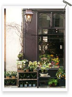 Flower shop in Le Marais