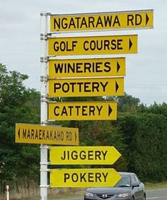Where else could Jiggery Pokery be??