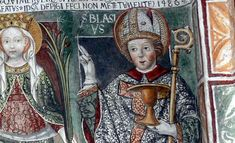 Saint Blaise is the Patron Saint of: Throat Ailments English Wool Combers