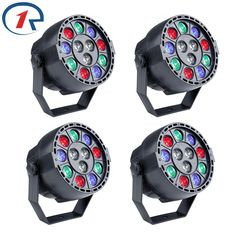 53.99$  Watch here - http://alivve.shopchina.info/go.php?t=32778967835 - ZjRight 4pcs/lot 15W RGBW 12 LED par light DMX512 Sound control LED stage light for music concert bar KTV dj disco effect light  #buychinaproducts