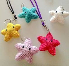 Crochet stars free after Super Mario Bros. on the page with german free manual. Super Mario Bros, Baby Blanket Crochet, Crochet Baby, Baby Knitting Patterns, Crochet Patterns, Baby Mobile, Crochet Stars, Knitting Socks, Knit Socks
