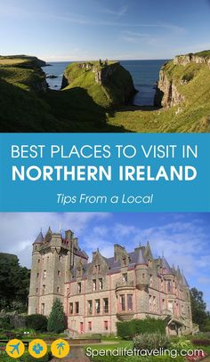 Must-visit places and things to do in Northern Ireland.Must-visit places and things to do in Northern Ireland.Must-visit places and things t. Ireland Vacation, Ireland Travel, Europe Destinations, Beautiful Places To Visit, Cool Places To Visit, Ukraine, Visit Northern Ireland, Thing 1, Ireland Landscape