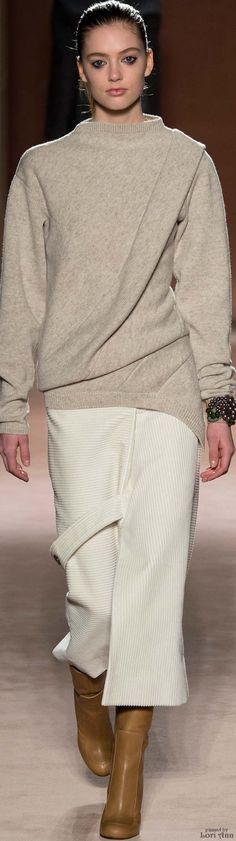 """Victoria Beckham Fall 2015 RTW """"And the LORD said to Moses, """"Go to the people and consecrate them today and tomorrow. Have them wash their clothes."""" Exodus 19:10"""