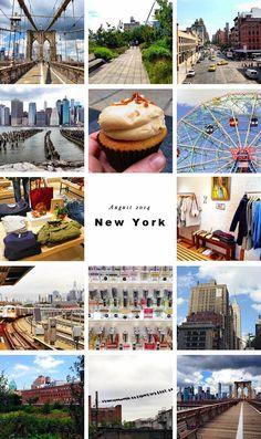 Slomo: AUGUST 2014: NEW YORK, NEW YORK (PART 1)