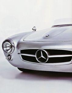 Classic Mercedes-Benz.