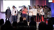 La Fundación Telefónica ha acogido la celebración de los #TA2012 que, a través de 31 categorías, premian a los tuiteros más punteros de España.  http://agoranews.es/2012/10/01/video-resumen-tweets-awards-2012