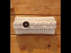 Πλεκτη Κορδελα Μαλλιων με Βελονακι--Ομορφη και ευκολη - YouTube Learn To Crochet, Knit Crochet, Baby Turban, Easy Youtube, Knitted Headband, Hair Bows, Headbands, Knitting, Beauty