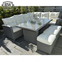 Corner sofa set grey rattan €939