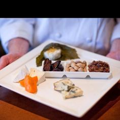 Small bites to enjoy with our extensive wine list, 1313 Main, Downtown Napa. http://1313main.com/index.html