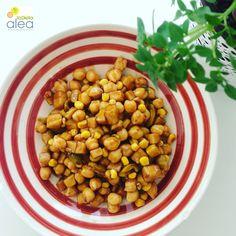 Ensalada de garbanzos y manzana - La dieta ALEA - blog de nutrición y dietética, trucos para adelgazar, recetas para adelgazar