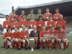 Manchester United with the European Cup at Old Trafford Manchester... News Photo | Getty Images