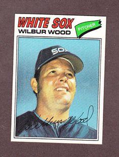 1977 Topps Wilbur Wood