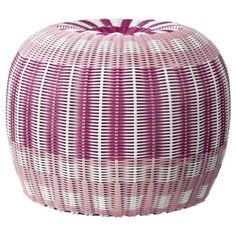 Pouf - Purple/Pink/White