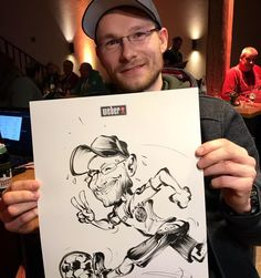 Live Caricature from Roberto Freire