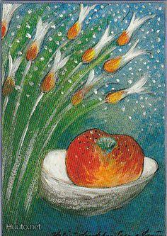 Onnellinen omena, Heljä Liukko-Sundström Finland, Metallica, Creativity, Artist, Painting, Design, Artists, Painting Art