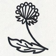 Daydream Doodles - Flower design (UT15875) from UrbanThreads.com