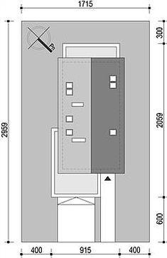 Projekt domu Fiodor G2 133,7 m2 - koszt budowy - EXTRADOM Lockers, Locker Storage, Layouts, Cabinet, Furniture, Home Decor, Home, Clothes Stand, Decoration Home