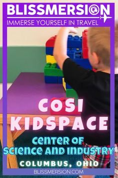 COSI is a hands-on science museum in Columbus, Ohio, Is COSI Kidspace fun for toddlers and young kids? We explored the space to find out! #columbus #ohio #museumsforkids #sciencemuseums #midwest #familytravel Columbus Travel, Columbus Ohio, Toddler Fun, Toddler Preschool, Travel With Kids, Family Travel, Science Museum, Gentle Parenting, Travel Activities