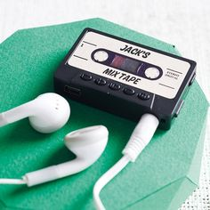 personalised mp3 player by mixpixie   notonthehighstreet.com