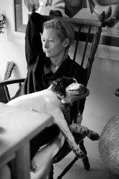 Tilda Swinton #nomad #nomadchic  http://www.nomad-chic.com