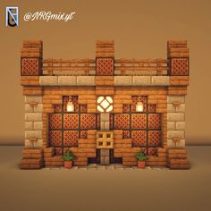 DetailCraft: Minecraft for the detail oriented Villa Minecraft, Casa Medieval Minecraft, Minecraft Cottage, Easy Minecraft Houses, Minecraft Castle, Minecraft Room, Minecraft Plans, Amazing Minecraft, Minecraft Architecture