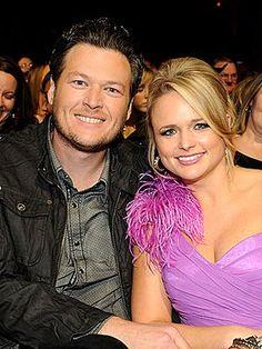 Blake Shelton & Miranda Lambert, love them!