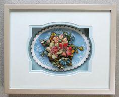 Blue Flowers made by Kazumi Iitaka