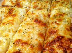 Cheesy Garlic Bread Sticks