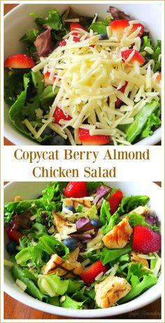 Wonderful Copycat Berry Almond Chicken Salad