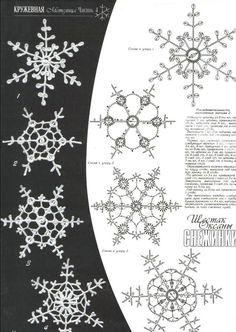 схемы вязания крючком снежинок ангелов.бесплатно: 17 тыс изображений найдено в Яндекс.Картинках