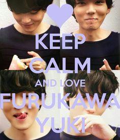 yuki furukawa - su carilla kawai!! haha okno xD