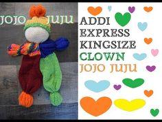 Addi Knitting Machine, Circular Knitting Machine, Knitting Machine Patterns, Loom Knitting, Yarn Dolls, Knitted Dolls, How To Do Crochet, Circular Loom, Addi Express