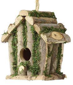 fsc Learned C J Wildbird Foods Cj Birch Log Nest Box Open Front Carefully Selected Materials