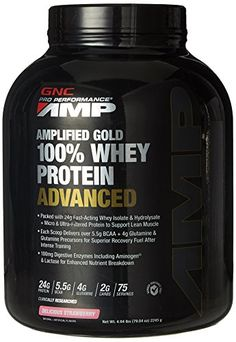 GNC Pro Performance AMP Amplified Gold 100 Whey Protein Advanced 494 Lb Delicious Strawberry * To view further for this item, visit the image link. Fitness Nutrition, Diet And Nutrition, Fitness Goals, Fitness Tips, 100 Whey Protein, Whey Isolate, Muscle Fatigue, Fitness Inspiration, The 100