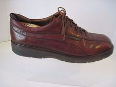 Vintage MEPHISTO Brown Leather Good Year Welt Oxfords Size US 11 #Mephisto #Oxfords