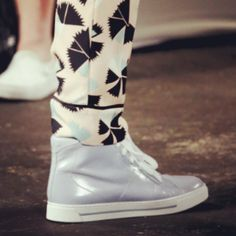 #NYFW details: #MarcByMarcJacobs #ss2014 #sneakers