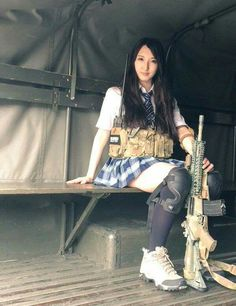 Military, Poses, People, Airsoft, Weapon, Beauty, Guns, Fashion, Figure Poses