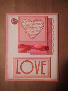 Handmade Valentine Card | Cards