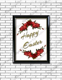 Happy Easter Quote Print Printable Wall Art Decor Poster Digital Typography Calligraphy Hand Written Comercial Use by DigitalPrintStore on Etsy Quote Posters, Quote Prints, Happy Easter Quotes, Online Print Shop, Typography Poster, Printable Wall Art, Handwriting, Wall Art Decor, Wall Decals