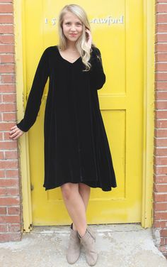 Prity Velvet Dress - Ink | CP Shades | It's a Shopping Thing