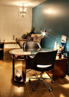 Bliss Manicure Pedicure Room by Todd Douglas Photography, via Flickr