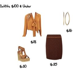 """""""Outfits $100 & Under - Outfit #8"""" by angelarcher5 on Polyvore"""