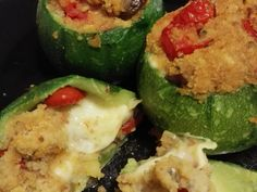 Zucchine tonde ripiene vegetariane Couscous, Biscotti, Zucchini, Catering, Food And Drink, Healthy Recipes, Healthy Food, Vegetables, Drinks